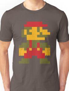 8 bit Mario V.1 Unisex T-Shirt