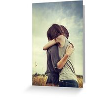 Mother and Daughter iii Greeting Card