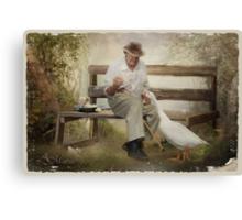 Captured memories – Looking back Canvas Print