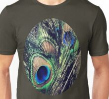 Peacock Feather's Color Unisex T-Shirt