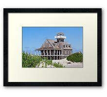 Oregon Inlet Life Saving Station Framed Print
