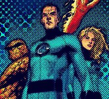 Fantastic 4 by angeliana