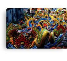 Chinese Dragons Canvas Print