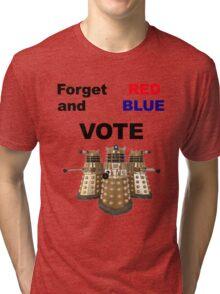 Vote Dalek! Tri-blend T-Shirt