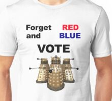 Vote Dalek! Unisex T-Shirt