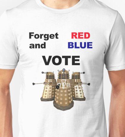 Vote Dalek! Unisex T-Shirt