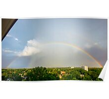 Double Arch - View From My Balcony Poster