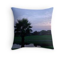 Sunrise in Destin Throw Pillow
