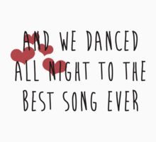 Best Song Ever - One Dirction by Julia Kolos
