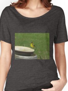 Getting A Drink Pentax ( X-5) Digital Camera Women's Relaxed Fit T-Shirt