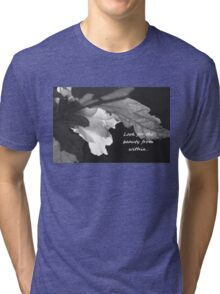 Look for the Beauty in All Things Tri-blend T-Shirt
