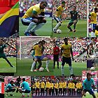 Brasil- London 2012 Olympic Football Final v Mexico  by Matt Eagles