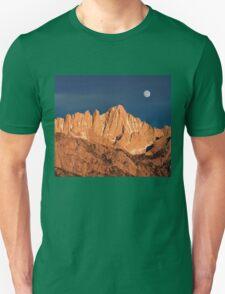 Mount Whitney At Sunrise. T-Shirt