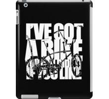 I've Got A Bike (White) iPad Case/Skin