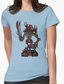 Slaughter Machine Womens Fitted T-Shirt
