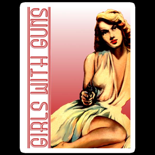 Girl With Gun by sashakeen