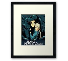 Howls Movie Castle (Howl & Sophie) Framed Print