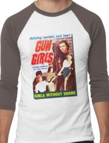 Gang Deb Gun Girls  Men's Baseball ¾ T-Shirt