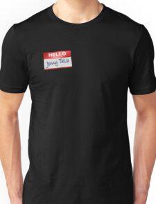 Hello My Name Is Jenny Tallia Unisex T-Shirt