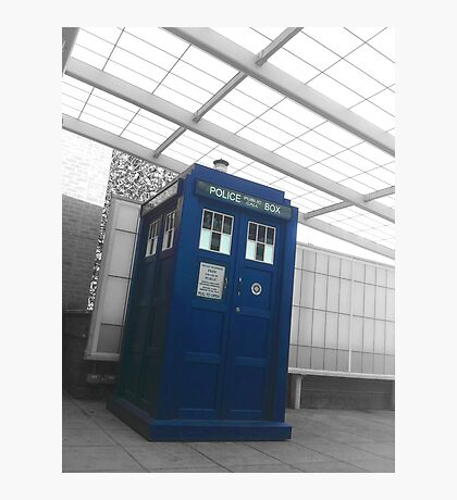 The Doctor is in Photographic Print
