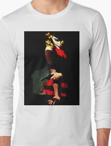 Devil With A Red Dress Long Sleeve T-Shirt