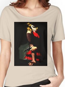 Devil With A Red Dress Women's Relaxed Fit T-Shirt