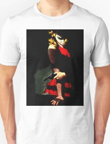 Devil With A Red Dress Unisex T-Shirt