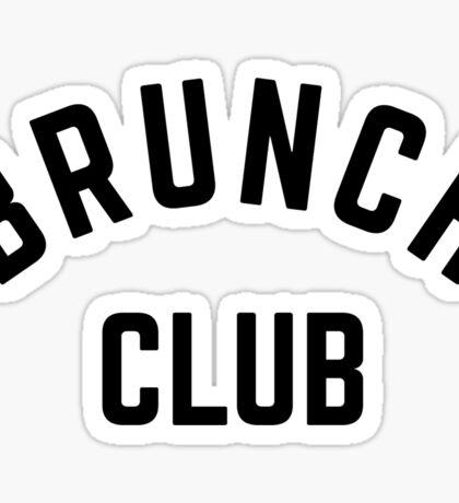 BRUNCH CLUB Sticker