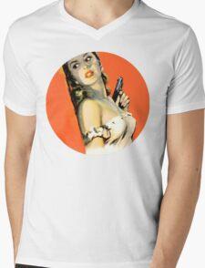 Fatal Femme Fatal Mens V-Neck T-Shirt