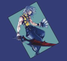 Riku - Kingdom Hearts: Chain of Memories by Adam Hunt