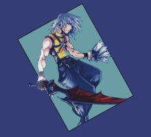 Riku - Kingdom Hearts: Chain of Memories by Adam Hunt