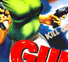 Gun Crazy Sticker