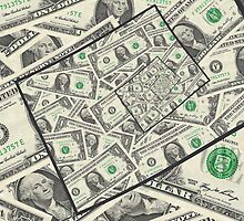 Dollar Bills Design by morningdance