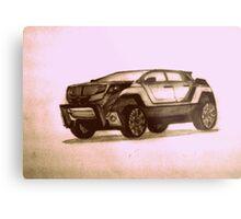 New Concept SUV Metal Print