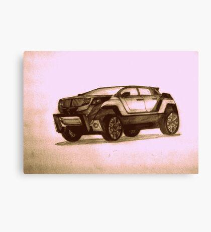 New Concept SUV Canvas Print