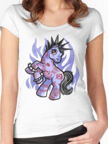 My Punkrock Pony Women's Fitted Scoop T-Shirt