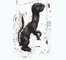 ROA Graffiti Artwork, Ferrett by GraffArt Tees