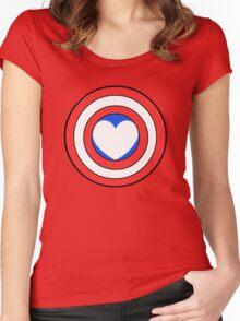 Captain Looooooove Women's Fitted Scoop T-Shirt