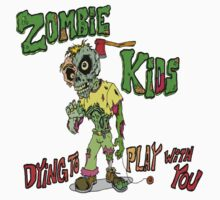 Zombie Kids Kids Clothes
