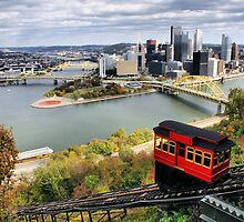 Pittsburgh from Dusquesne Incline by Michelle Joseph-Long