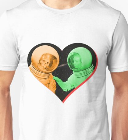 Love & Death Space Style Unisex T-Shirt
