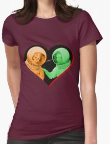 Love & Death Space Style Womens Fitted T-Shirt