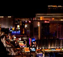 Las Vegas Tilt Shift by Eric Ziegler