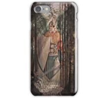black forest angel iPhone Case/Skin