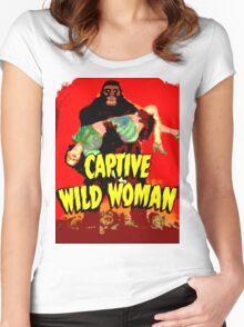 Captive Wild Women Women's Fitted Scoop T-Shirt