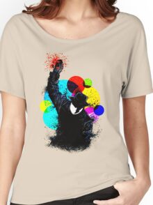 Splatter Pop! Women's Relaxed Fit T-Shirt