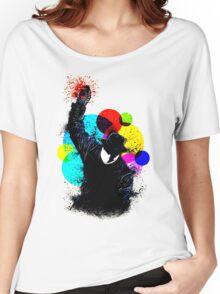 Splatter Pop! Women's Relaxed Fit T-Shirt