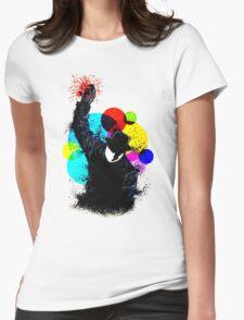 Splatter Pop! Womens Fitted T-Shirt