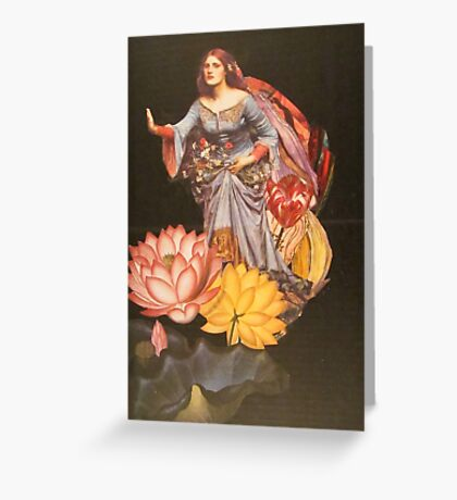 Darkness cannot drive out darkness Greeting Card