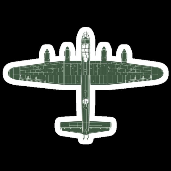 Avro Lancaster by zoidberg69